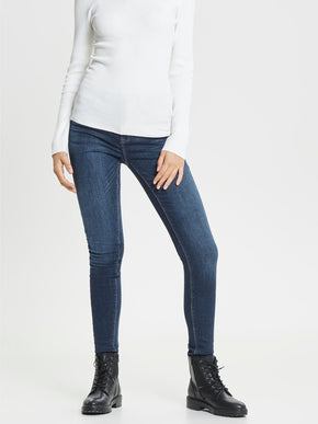 JEANS SKINNY onlPAOLA À TAILLE HAUTE