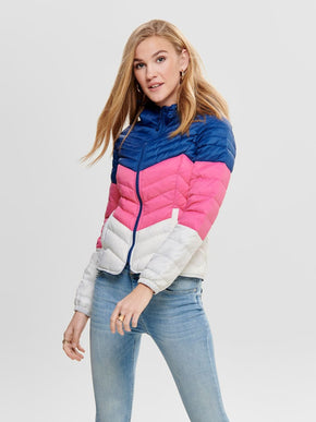 COLOURBLOCK PUFFER JACKET