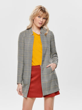 LIGHT CHECKERED JACKET