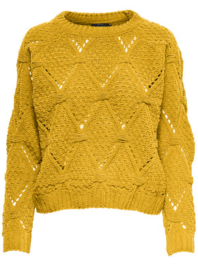 COLOURFUL CHENILLE SWEATER