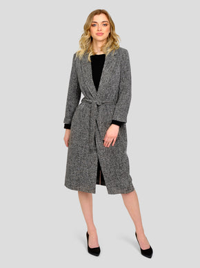 LONG TWEED JACKET