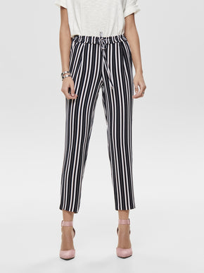 STRETCH STRIPED PANTS