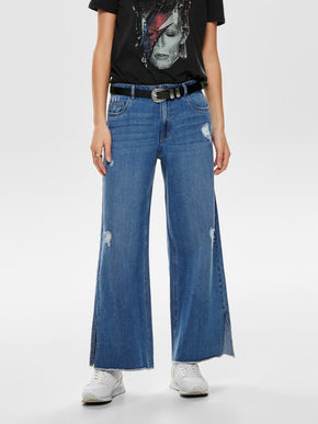 onlSONNY WIDE LEG CROPPED JEANS
