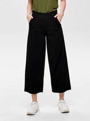 FINAL SALE - WIDE-LEG CULOTTES