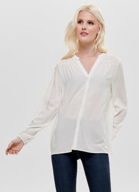 SOLID BLOUSE