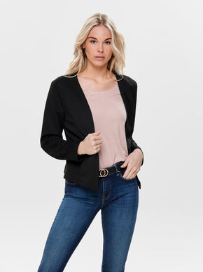 SHORT TEXTURED BLAZER