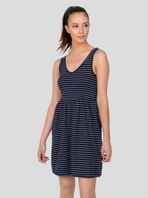 JERSEY STRIPED DRESS