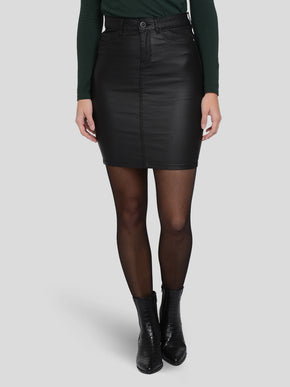 EMILIE ROCK COATED SKIRT