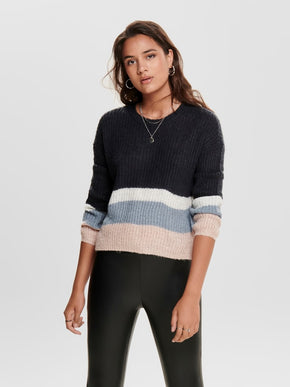 FINAL SALE - COLOURBLOCK SWEATER