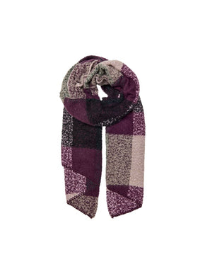 FINAL SALE - BOUCLÉ COLOURBLOCK SCARF