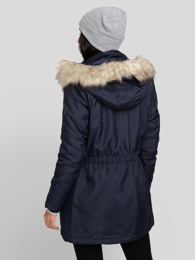IRIS FUR PARKA Night Sky