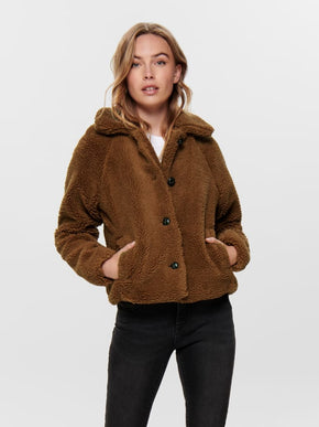 FINAL SALE - SHORT SHERPA JACKET