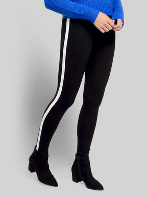FINAL SALE - THICK LEGGINGS WITH SIDE BAND