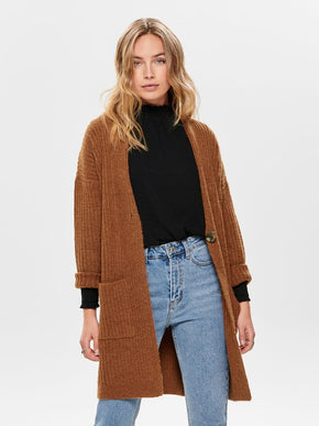 ELAINA LONG SLEEVE KNIT CARDIGAN