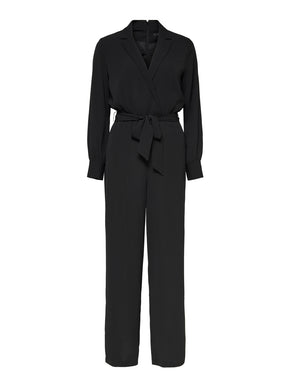 FINAL SALE - TALIA-MONEL LONG SLEEVE JUMPSUIT