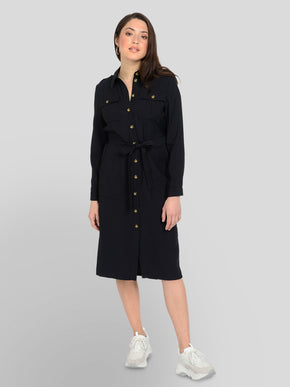 ELIANA LONG SHIRT DRESS