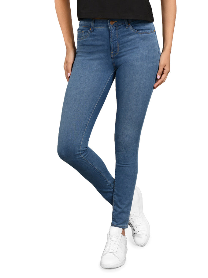 JEAN SKINNY MI-TAILLE GLOBAL BLUE