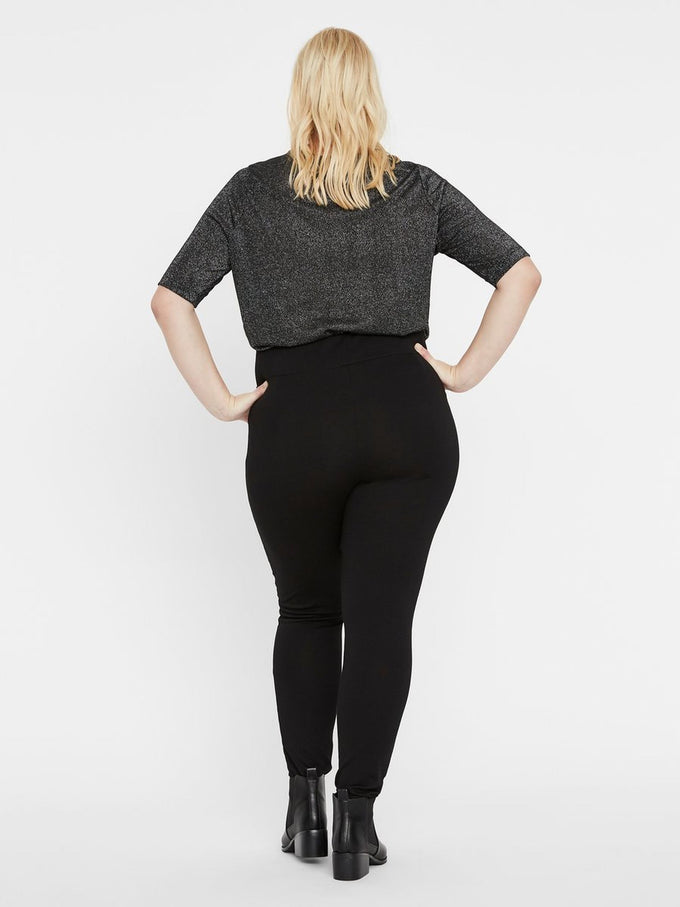 BLACK STRETCH LEGGING BLACK