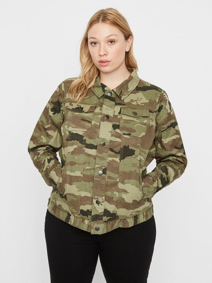 6c5f180fcbcda CAMO DENIM JACKET IVY GREEN