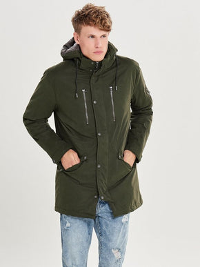 FINAL SALE - PADDED FISHTAIL PARKA