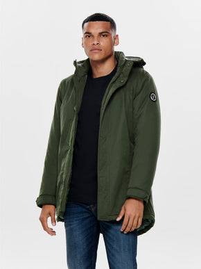 FINAL SALE - SOLID PADDED PARKA