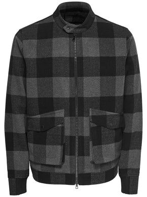 FINAL SALE - WOOL-BLEND JACKET