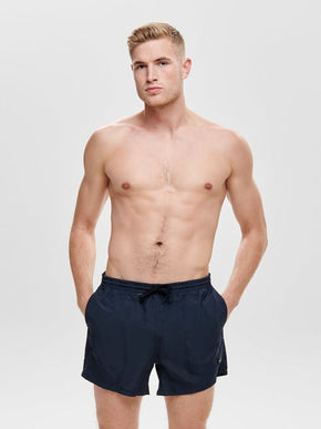 BASIC LOGO SWIM SHORTS