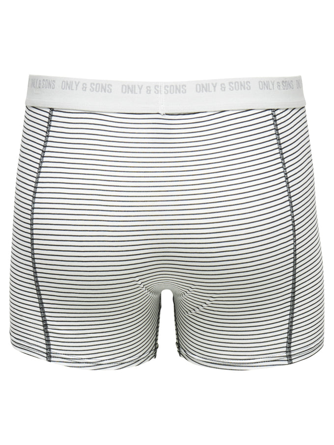 BOXERS ONLY & SONS À RAYURES NUAGE