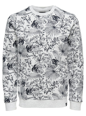ONLY & SONS TROPICAL PRINT SWEATPRINT