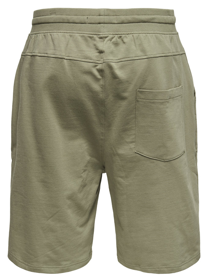 ONLY & SONS SWEAT SHORTS FALLEN ROCK