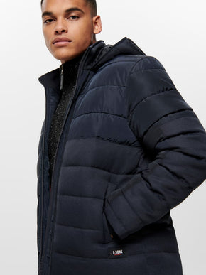 FINAL SALE - QUILTED PUFFER JACKET