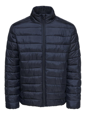 HIGH-NECK PREMIUM QUILTED JACKET