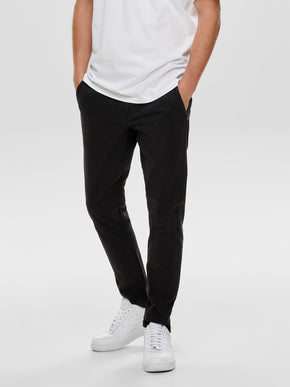 FINAL SALE - CLASSIC SLIM FIT CHINO PANTS