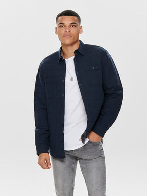 HYBRID QUILTED OVERSHIRT