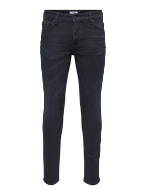 LOOM 4341 BLUE BLACK SLIM FIT JEANS