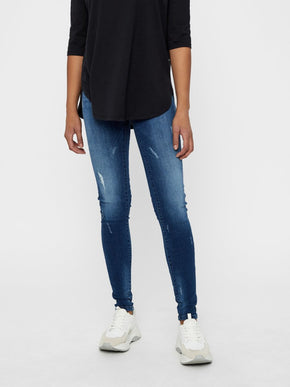 NMLUCY LOW WAIST SKINNY FIT JEANS