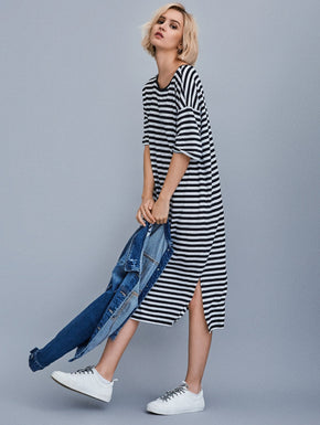 MODAL-BLEND T-SHIRT-DRESS