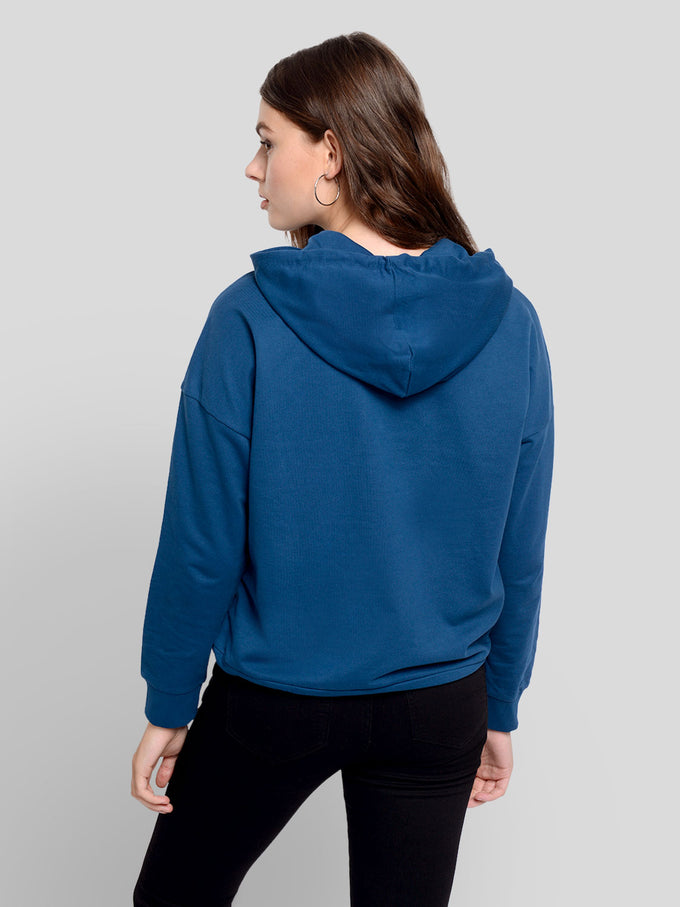 FINAL SALE - Hooded Sweatshirt GIBRALTAR SEA