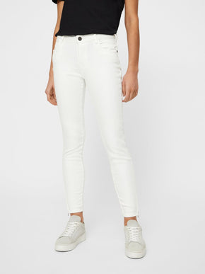 NMLUCY CROPPED SKINNY FIT PANTS