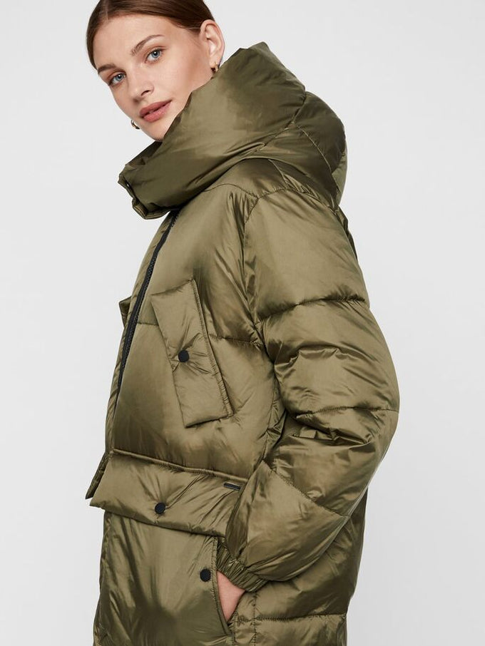 HELLA LONG SLEEVE JACKET WINTER MOSS