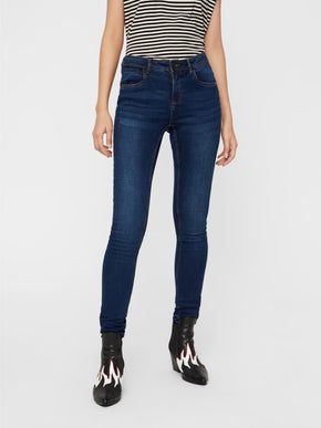 NMJEN SLIM FIT DARK BLUE JEANS
