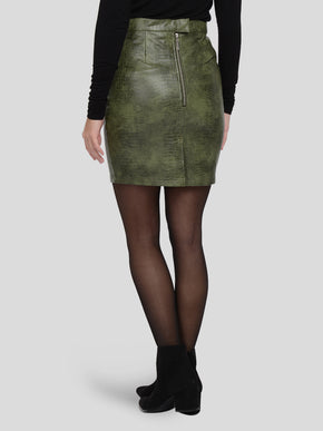 MISSY HIGH WAIST SHORT SKIRT