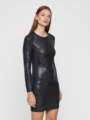 NIGHT LONG SLEEVE DRESS