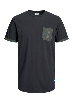 FUSED POCKET T-SHIRT
