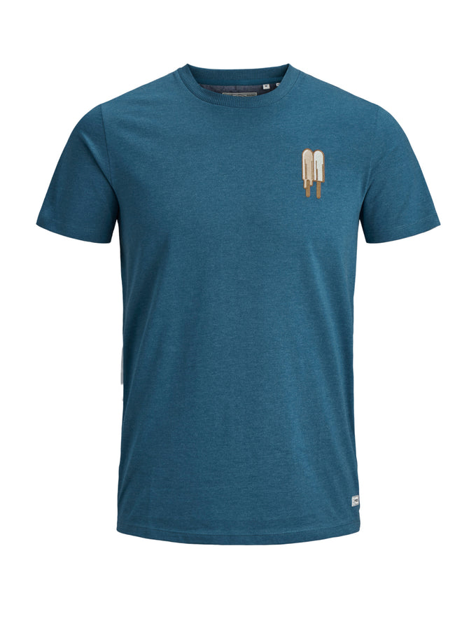 SUMMER TIME T-SHIRT MOROCCAN BLUE