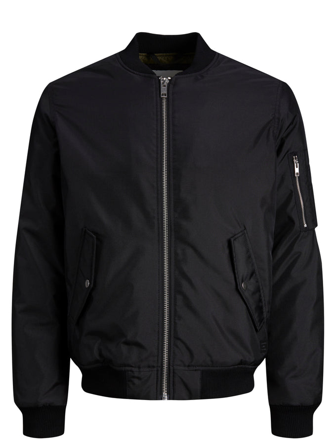 BILL BOMBER JACKET BLACK