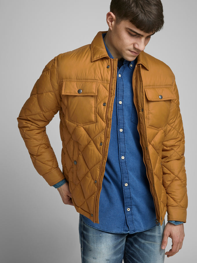 ALBERT QUILTED JACKET CATHAY SPICE