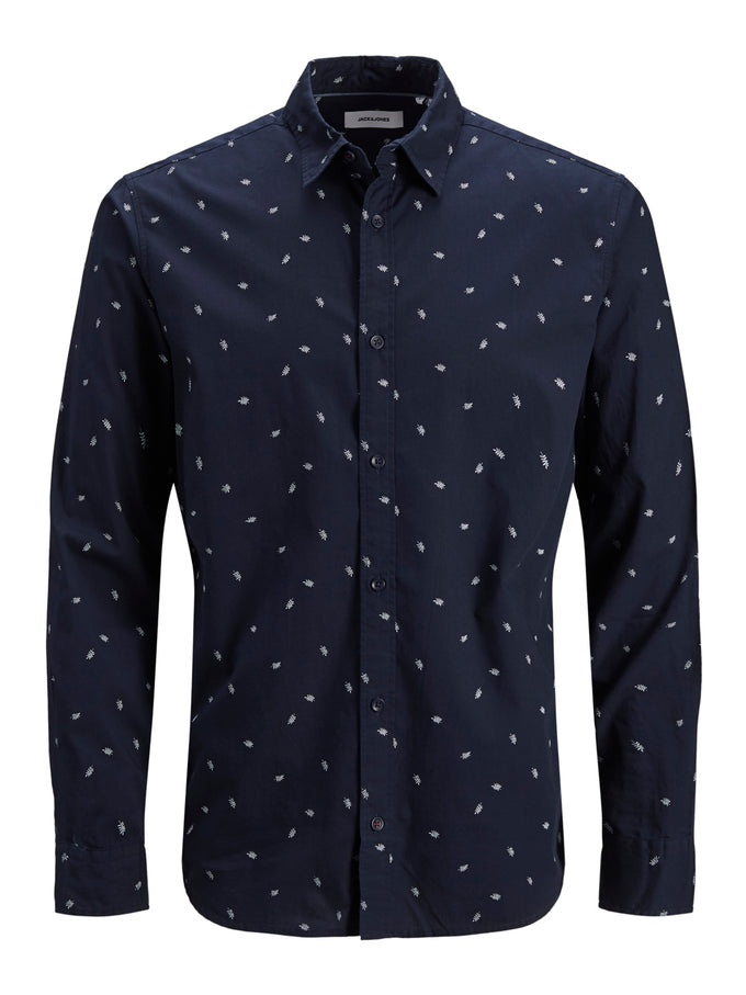 LONG-SLEEVED MADISON SHIRT NAVY BLAZER