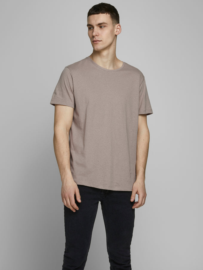 LINEN BASIC TEE CROCKERY