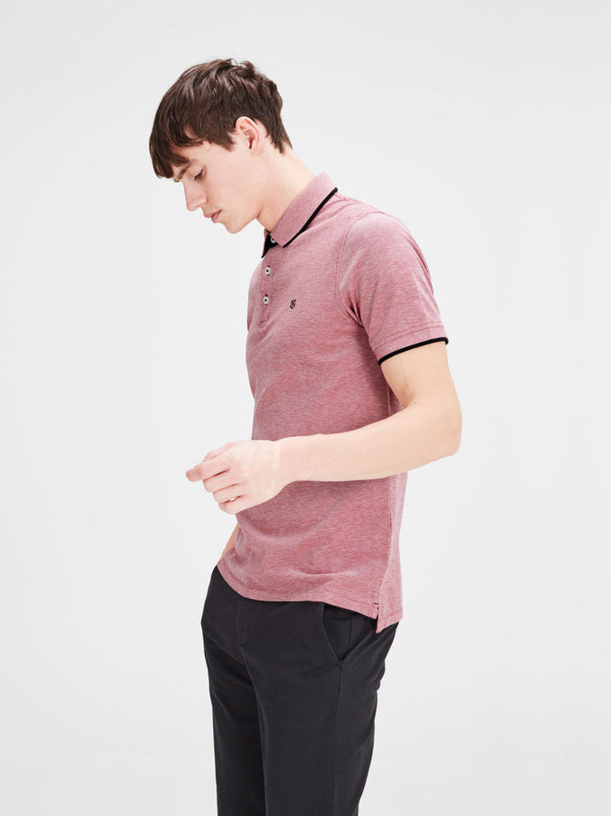 CLASSIC PIQUE POLO RED
